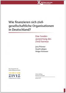 Wie finanzieren sich zivilgesellschaftliche Organisationen?